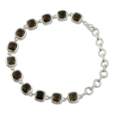 Smokey Bracelet Fair Trade Jewelry