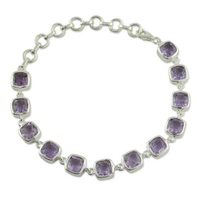 Amethyst Bracelet Fair Trade Jewelry