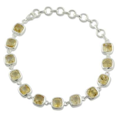 Citrine Bracelet Fair Trade Jewelry