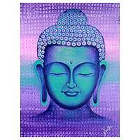 'Enlightenment' - Buddha Portrait Signed Buddhism Fine Art