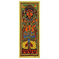 Featured review for Madhubani painting, Happy Ganesha