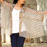 Embellished wrap,