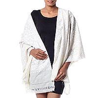 Wool shawl,