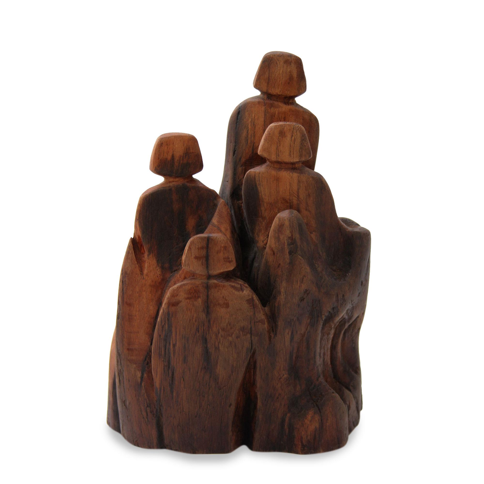 Unicef uk market reclaimed indian khair wood signed