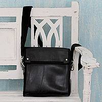 Recycled tire shoulder bag,