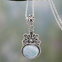 Larimar pendant necklace, Heaven on Earth