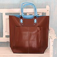 Handcrafted tote handbag,