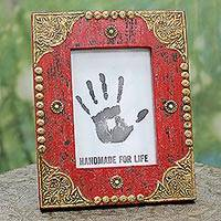 Wood photo frame, Majestic Red (5x7)