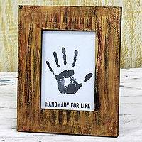 Wood photo frame,