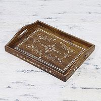 Sheesham wood tray,