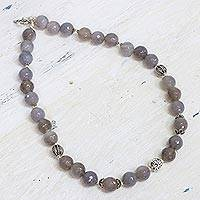 Aventurine beaded necklace,