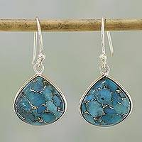 Featured review for Sterling silver dangle earrings, Dancing Soul