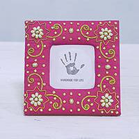 Cotton photo frame,