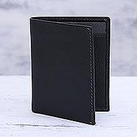 Leather card holder wallet,