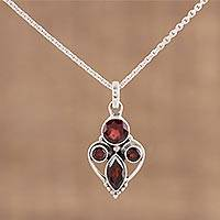 Featured review for Garnet pendant necklace, Eternal Ecstasy
