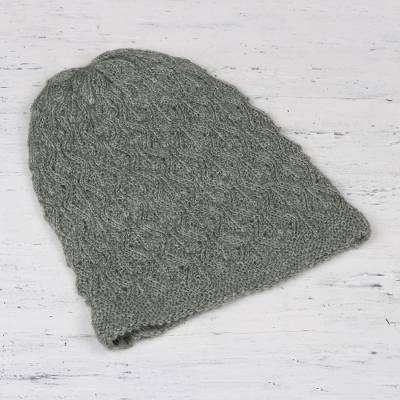 Wool blend hat, Charming Maze
