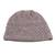 Wood blend hat, 'Himalayan Comfort in Lilac' - Hand Knitted Lilac Wool Blend Hat from India (image 2a) thumbail