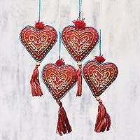 Beaded ornaments,