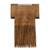 Wood decorative comb, 'Traditional Tribe' - Handmade Acacia Wood Decorative Tribal Comb Made in India (image 2a) thumbail