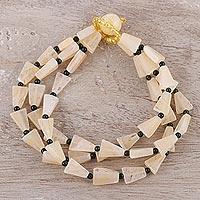 Agate beaded bracelet Sunny Vitality (India)