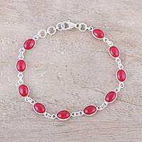 Featured review for Jasper link bracelet, Elegant