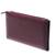 Leather wallet, 'Classic Woman in Maroon' - Handcrafted Leather Wallet in Maroon from India (image 2a) thumbail