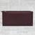Leather wallet, 'Classic Woman in Maroon' - Handcrafted Leather Wallet in Maroon from India (image 2b) thumbail