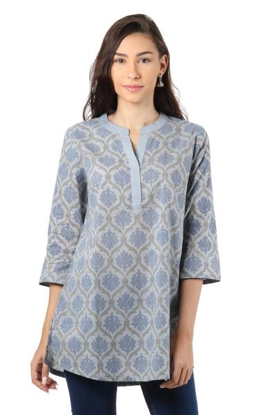Cotton tunic, Royal Ash