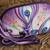 Leather sling, 'Purple Enigma' - Floral Leather Sling in Purple from India (image 2b) thumbail