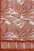 Block-printed silk scarf, 'Russet Abstraction' - Abstract Russet and Ivory Silk Wrap Scarf from India (image 2d) thumbail