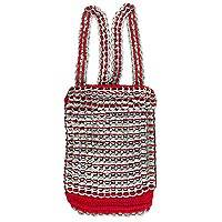 Soda pop-top backpack, 'Shiny Red' - Soda pop-top backpack