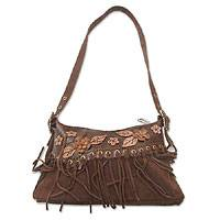 Leather Shoulder Bag, 'country Charm' Picture