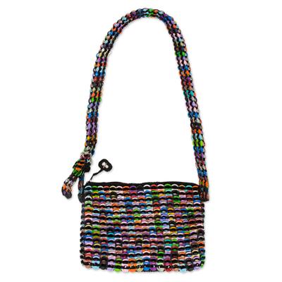 Crochet Soda Poptop Cosmetic Bag