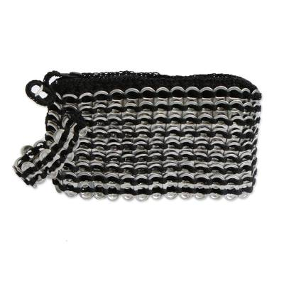 Hand Made Recycled Aluminum Soda Pop-Top Wristlet