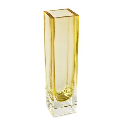 Handblown Murano Inspired Glass Vase