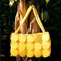 Handbag, 'Sunshine Buttons' - Handbag