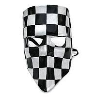 Leather mask, 'Bautta' - Leather mask