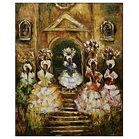 'Washing of Bonfim' (2007) - Bahia Celebration Original Fine Art
