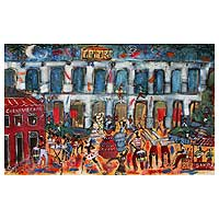 'Arches of Lapa' - Carnival Folk Art