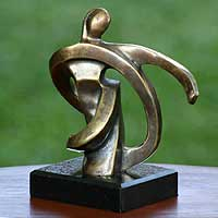 Bronze sculpture Self Confidence Brazil
