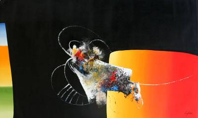 'Breaking Barriers' - Abstract Art from Brazil