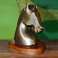 Bronze sculpture Horse Brazil