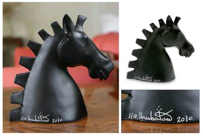 Sculpture, 'Stylized Horse' - Sculpture