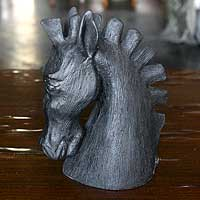 Sculpture Horse s Head Brazil