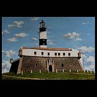 'Barra Lighthouse – Salvador' - Brazilian Landscape Realist Painting