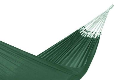 Brazilian Solid Green Cotton Fabric Hammock (Double)