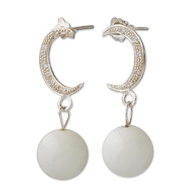 Dolomite dangle earrings
