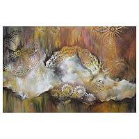 'Dawn' - Brazil Mountain Fine Art Painting