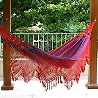 Cotton hammock Forro Dance double Brazil