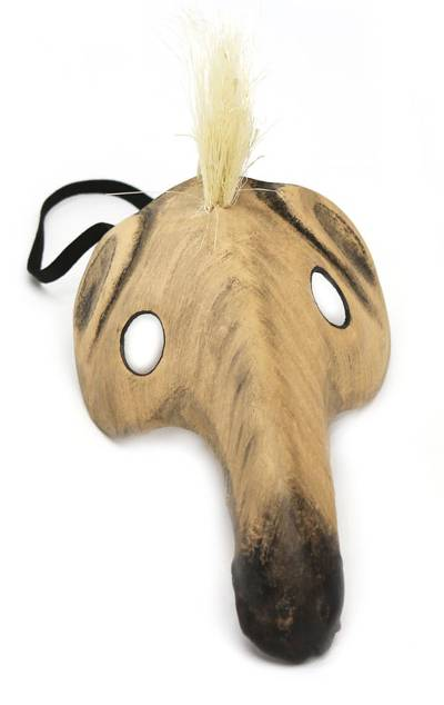 Brazilian Carnaval Leather Mask